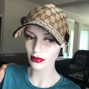 Gucci Accessories - 🧢Gucci woman basketball hat. 3ccfbb2d21a